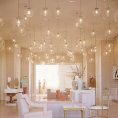 Love the lights but not so keen on the room itself
