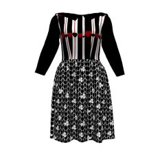 Star studded performance dress in snowflakes images