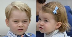 hrhduchesskate:  Canada Tour, Day 1, Victoria, British Columbia, September 24, 2016-Prince George and Princess Charlotte