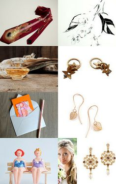 April, and your gifts! by lamaurer on Etsy--Pinned with TreasuryPin.com