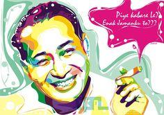 The second president of Indonesia, Soeharto.