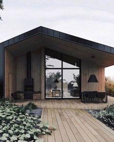 House styles architecture cabin Ideas for 2019 Design Exterior, Modern Exterior, Door Design, Design Design, White House Architecture, Wood Architecture, Style At Home, Renovation Facade, Facade House