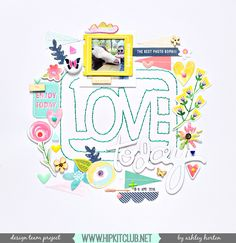 Design Team layout for Hip Kit Club, using the May 2016 Hip Kit & Add-On Kits. Baby Scrapbook, Scrapbook Albums, Scrapbooking Layouts, Scrapbook Paper, Digital Scrapbooking, Scrapbook Examples, Hip Kit Club, Layout Inspiration, Life Inspiration