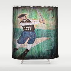 Design your everyday with golf shower curtains you'll love to show off in your bathroom. Choose unique patterns and designs from independent artists. Bathroom Curtains, Shower Curtains, Golf Theme, Custom Art, Artwork, Crisp, Pattern, Fabric, Colorful