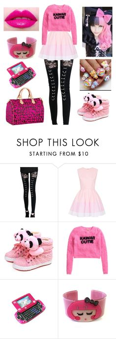"""""""If I Lived In Japan (tag)"""" by bubble-loves-you ❤ liked on Polyvore featuring Topshop, H&M and Louis Vuitton"""