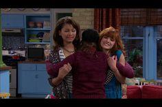 Bella and zendaya on the episode copy kat it up
