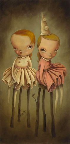 Gorgeous new work from Kathie Olivas via @tokyobunnie