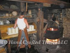 Travel Picture: Day 31. Making cheese the traditional way, Ballenberg Open Air Museum, Brienz, Swizterland.
