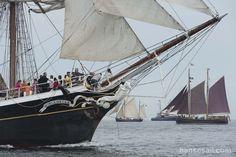 Sailing @ Hanse Sail Rostock.