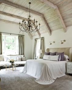 How to Decorate a Large Bedroom #decorate #windowcoverings #beautifulhome #interiordesign http://www.architecturaldigest.com/gallery/how-to-decorate-large-bedroom-ideas