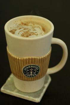 Pumpkin Spice Latte Recipe- you can sub splenda & skim/almond milk and make this a SKINNY Pumpkin Latte!!