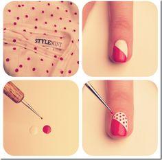Imagini pentru cum sa-ti decorezi unghiile