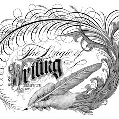 Master Penman Jake Weidmann - hand calligraphy - Worthy Action