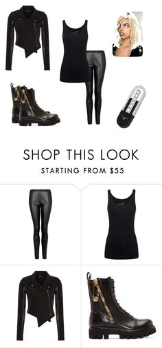 """""""The Time of decisions has come!"""" by bella-schroeder ❤ liked on Polyvore featuring MANGO, Juvia, Label Lab, Versus, Tom Ford and Swarovski"""