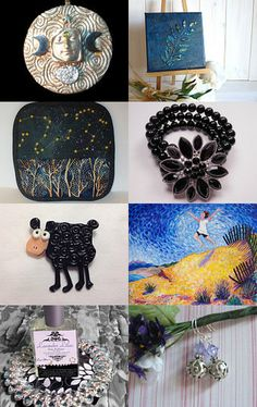 Stary,stary night! by Diddi on Etsy--Pinned with TreasuryPin.com