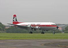 British Eagle DC-6