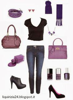 idea outfit radiant orchid - Pantone 2014