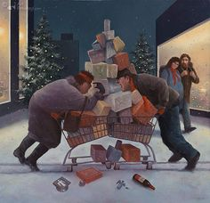 """Christmas Stress"" ... by Marius van Dokkum"