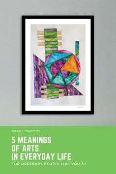 5 meaning of art in everyday life. Cubist Artists, Cubist Paintings, Art With Meaning, Deep Meaning, Kids Watercolor, Watercolor Paintings Abstract, Art Therapy Benefits, Types Of Visual Arts, Art Types