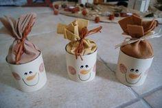 bonhommes de neige-conserve (pour l'école ?)