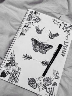 Harry Styles. Drawing. Tattoo. Doodling. Black/white.