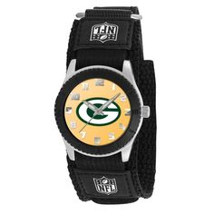 Green Bay Packers NFL Kids Rookie Series watch (Black)