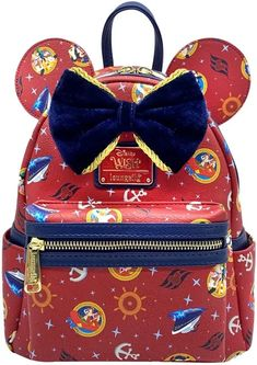 Set Sail With This Disney Wish Cruise Ship Mini Backpack