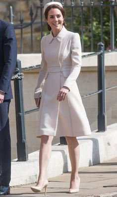 Kate Middleton Is an Absolute Vision in Easter White from InStyle.com