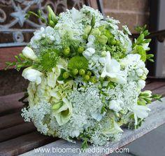 wedding bouquet green with hydrangeas | Green Inspiration | Suné by Sunela Fernando