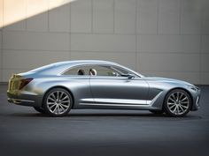 Vision G Coupe Concept previews Hyundai's premium models