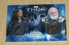 Marvel THOR 2 dual costume wardrobe Dark Mater Jane/Odin Portman/Hopkins DMD-14