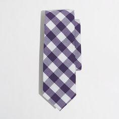 boys tie ideas J.Crew Factory - Factory boys' check tie