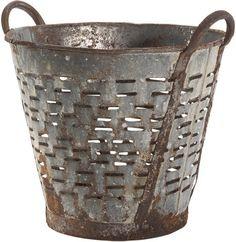 Vintage Olive Basket ~ #fixerupper #fixerupperstyle