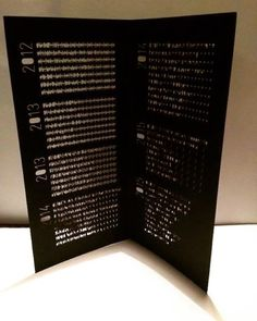 """Thanks to Joe Shouldice in Brooklyn we received the brandnew laser cut invite for the """"OUBEY Global Encounter Tour""""´s next stopover at Niaad Kampala in Uganda."""
