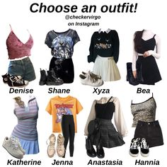 Teenage Girl Outfits, Outfits For Teens, Kpop Fashion Outfits, Cute Fashion, Retro Outfits, Cute Casual Outfits, Grunge Fashion Soft, Clothing Photography, Camille