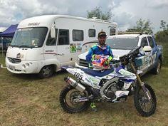 Dakar: Fausto Mota já testou a Yamaha no Paraguai