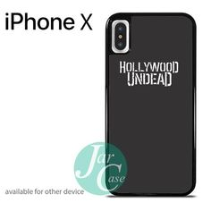 Hollywood Undead in Black - Z Phone case for iPhone X