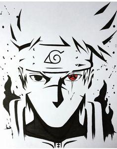 Kakashi cara top no Naruto Naruto Shippuden Sasuke, Naruto Kakashi, Kakashi Sharingan, Anime Naruto, Wallpaper Naruto Shippuden, Naruto Art, Manga Anime, Boruto, Sasuke Sakura