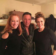 Bruce , Patti e Rita Wilson