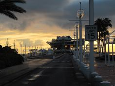 St. Petersburg,FL at 7:30 a.m.