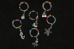 Wine / coffee charms by Dartle on Etsy, $15.00