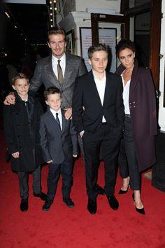 The Beckhams family