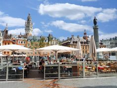 Lille, France Cheap International Flights, France, Cheap Flights, Cities, Street View, Europe, Spaces, Travel, Tops