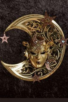 Chloe venetian mask, ball mask, masquerade mask, carnival venetian mask in papier mache
