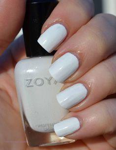 White = Zoya Purity