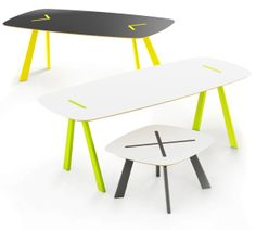 YAMI - table by Redo Design Studio , via Behance