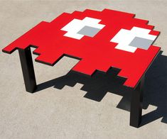 Pac-Man Ghost Tables, but seriously where would i put it?
