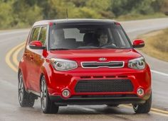 It's really for Katie to drive.  Shhhhh!  ;) Kia Soul Inferno Red