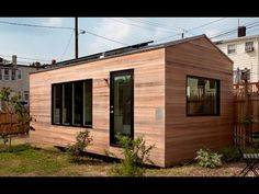 The Minim House is an ultra-compact studio cottage with an array of innovative built-in and multi-functional furnishings. The tiny house was designed by Foun...