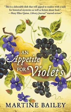 An Appetite for Violets [large print] by Martine Bailey